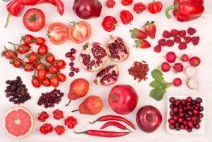 Kırmızı Meyve Sebzeler